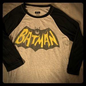 Batman DC Long Sleeve Graphic Tee